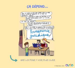 """""""Une loi pour y voir plus clair"""" (© Flobert&Jo)"""