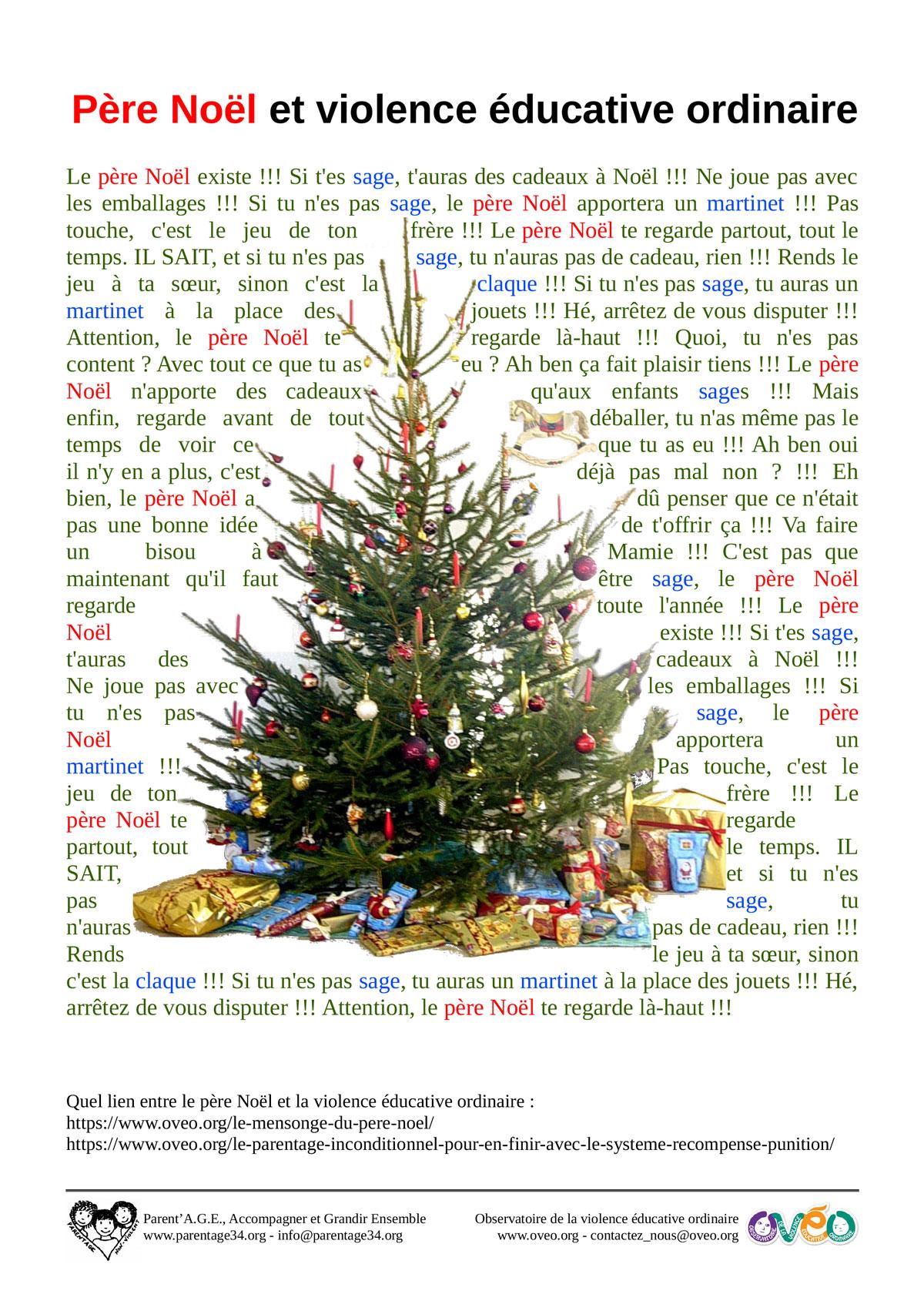 Affichette Noël